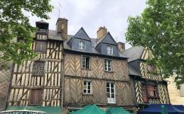 De Nantes a Rennes, un recorrido por cinco siglos de construcción en madera