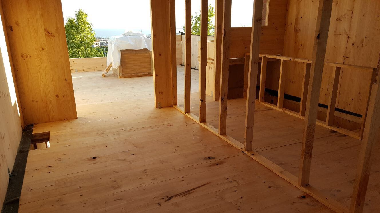 House Habitat comienza dos nuevas viviendas en madera CLT