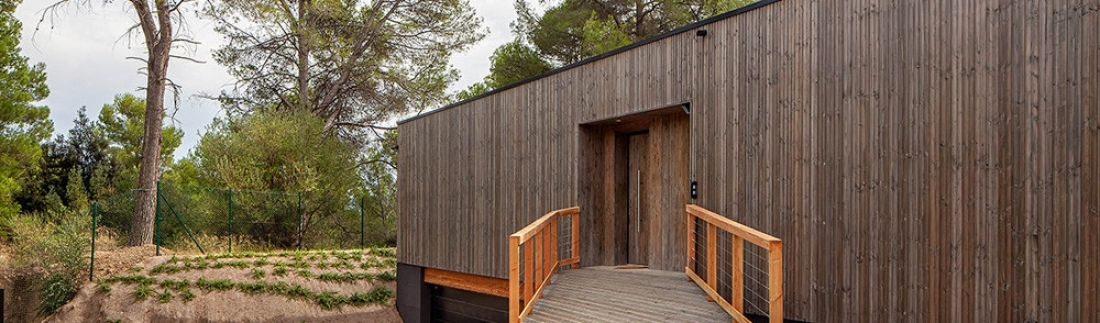A bio-passive home in Bellaterra (Barcelona): a space for wellness