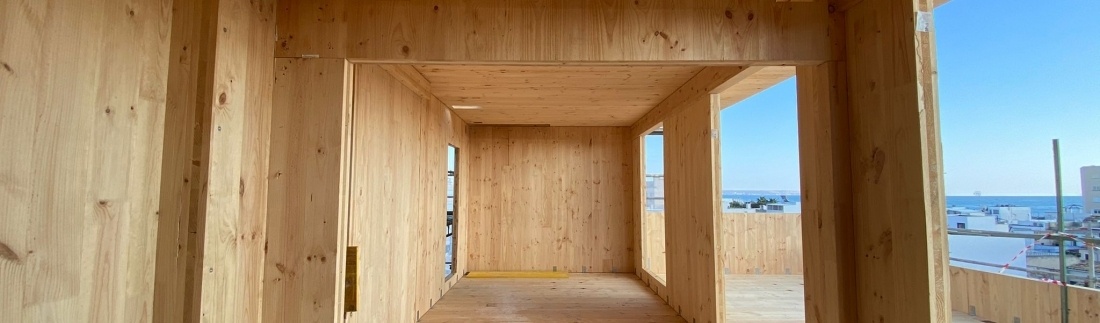 House Habitat builds the tallest wooden building in the Balearic Islands and the first Passivhaus