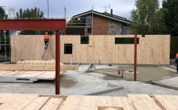 Cross Laminated Timber (CLT), suitable for all types of buildings