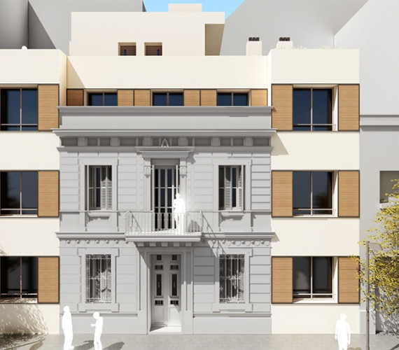 Casa de Madera Sants Barcelona _0003_D02
