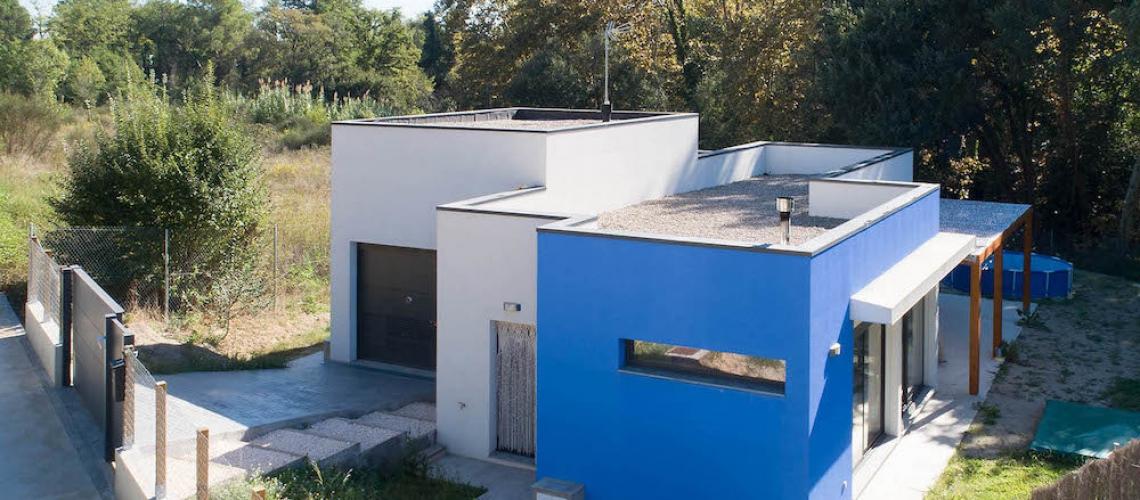 casa de madera biopasiva Sant quirze del valles 13