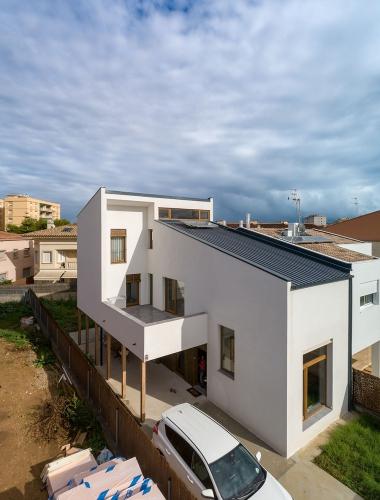 casa madera CLT House Habitat Vilanova i la Geltru1