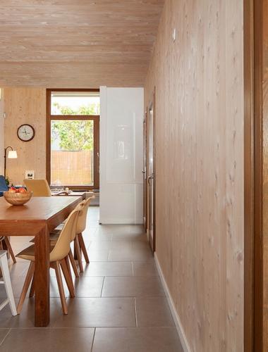 casa madera CLT House Habitat Vilanova i la Geltru12