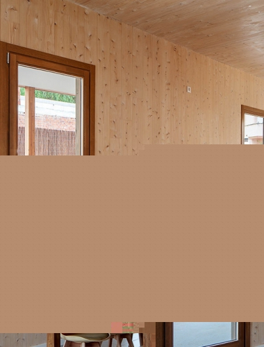casa madera CLT House Habitat Vilanova i la Geltru8