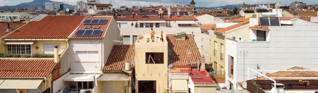 Blauhaus: casas sostenibles para recuperar el centro de la ciudad