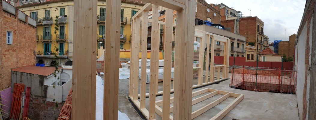 7 applications for wood in the construction industry